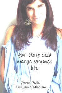 Your story could change someone's life